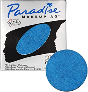 Mehron Makeup Paradise Makeup AQ Refill (.25 oz) (BRILLANT AZUR DARK BLUE)