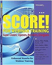 SCORE! for Webinar Training, volume 5