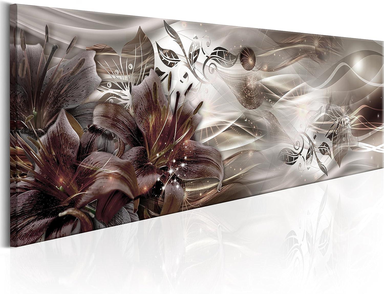Murando - Bilder 150x50 cm Vlies Vlies Vlies Leinwandbild 1 TLG Kunstdruck modern Wandbilder XXL Wanddekoration Design Wand Bild - Abstrakt Blaumen a-C-0063-b-b B079GXLQ9J b76fd3