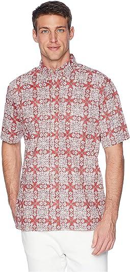 Christmas Quilt Classic Fit Aloha Shirt