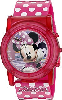 Disney Minnie Mouse Boutique LCD Pop Musical Watch...