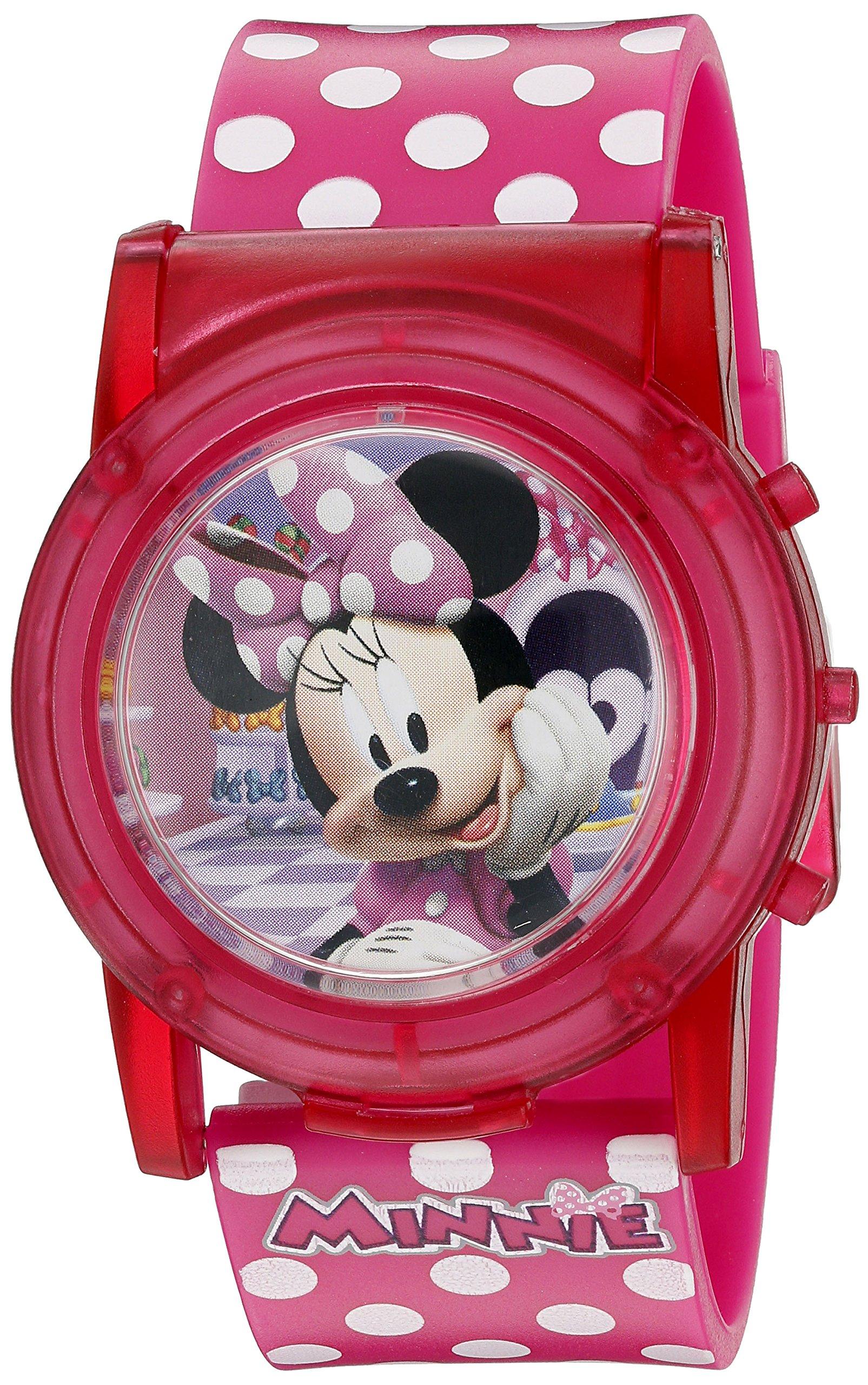 Minnie Mouse Boutique LCD Pop Musical Watch (Model: MBT3714SR)