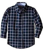 Toobydoo - Happy Checks II Flannel Shirt (Toddler/Little Kids/Big Kids)