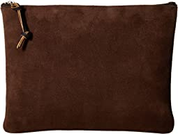 Large Rugged Suede Pouch