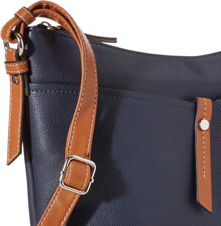 Tom Tailor Novara, Sacs bandoulière Bleu (Dunkelblau)