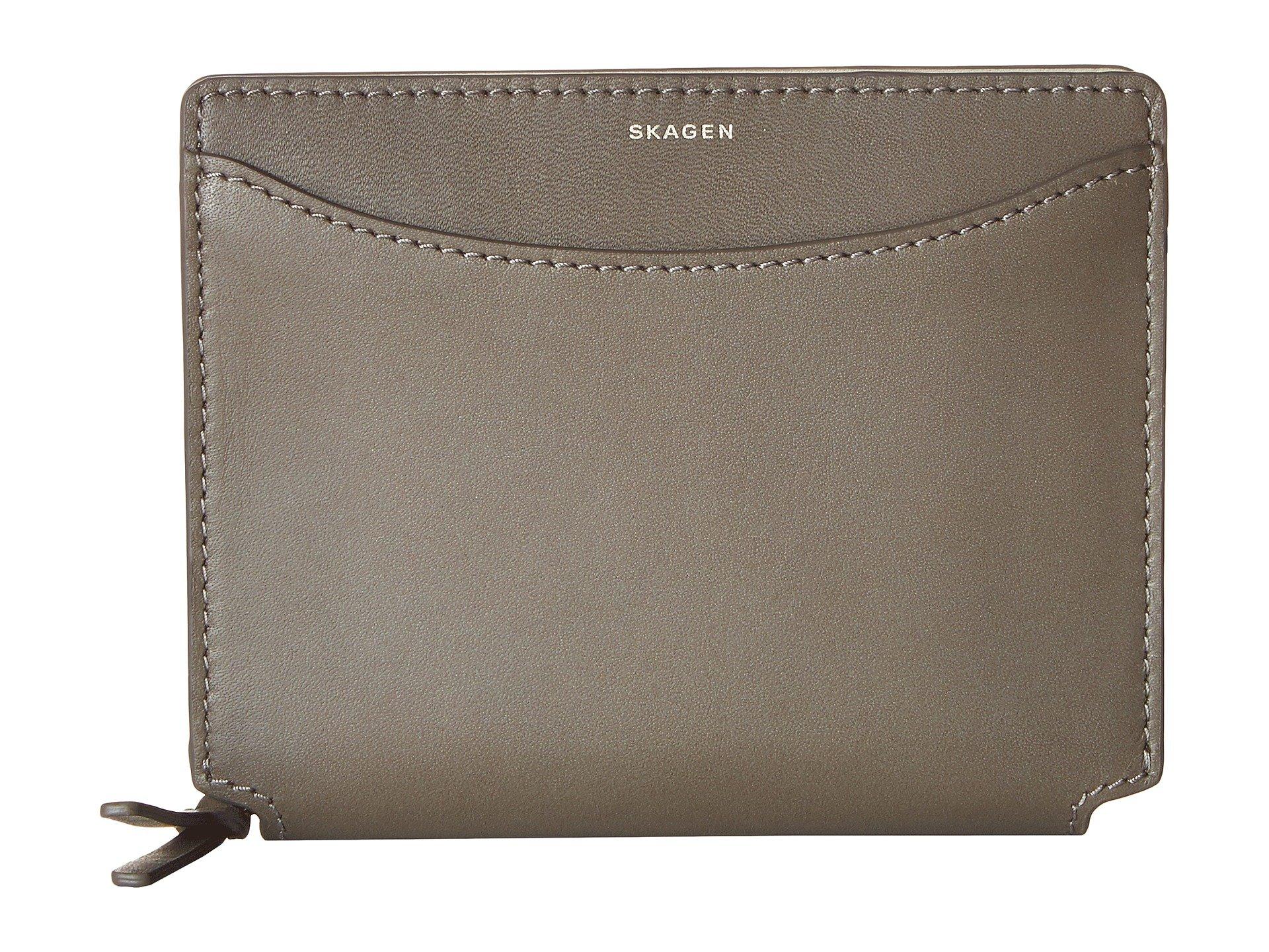 Monedero para Mujer Skagen Ryle Medium Zip Wallet  + Skagen en VeoyCompro.net