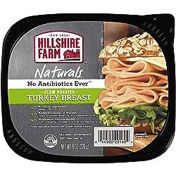 Hillshire Farm Naturals Lunchmeat, Slow Roasted Turkey Breast, 8 oz.