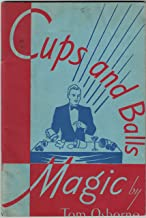 Cups and balls magic: Manipulation and routines