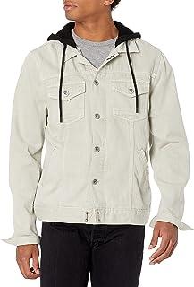 PAIGE Men's Scout Denim Jacket with Hood