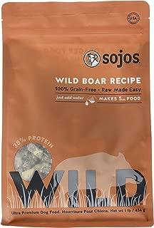 SOJOS Freeze Dried Raw Wild Boar Recipe