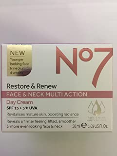 No 7 Restore & Renew Face & Neck MultiAction Day