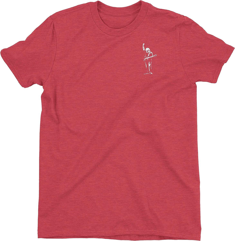 ZJ Designs Jerry Garcia Tribute T-Shirt Left Chest Shakedown Tee