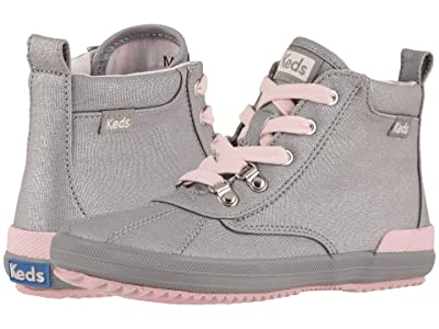 Keds Kids Scout Boots (Little Kid/Big Kid) (Grey) Girl