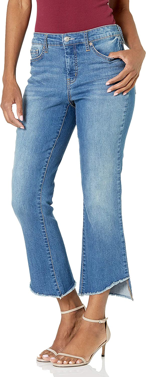 Jessica Simpson Women's Adored High Rise Kick Flare Ankle Jean