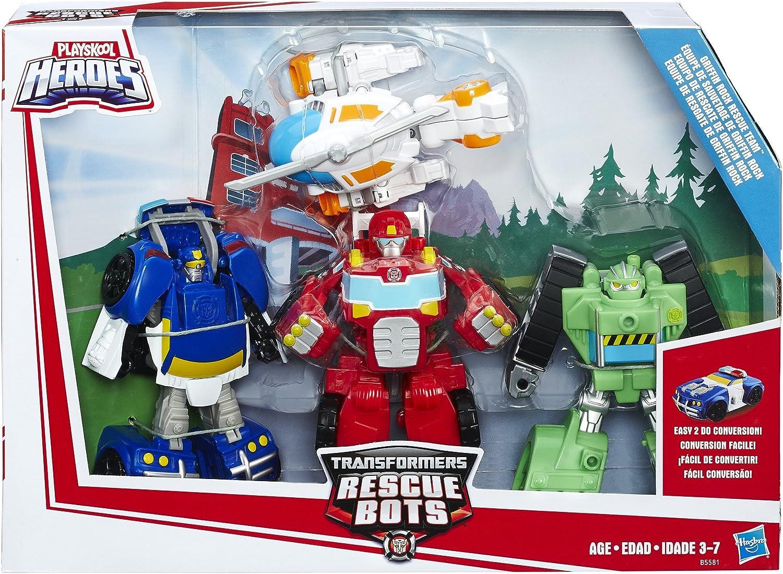 Transformers Rescue Bots Griffin Rock Team Action Figure