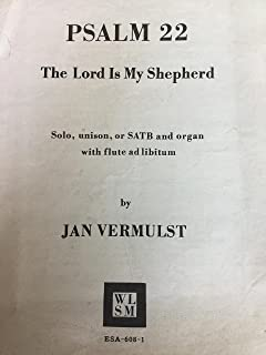 Psalm 22 The Lord Is My Shepherd