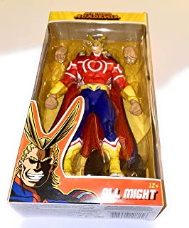 McFarlane Toys 10815 My Hero Academia All Might Red Version 18cm Action Figure, Various