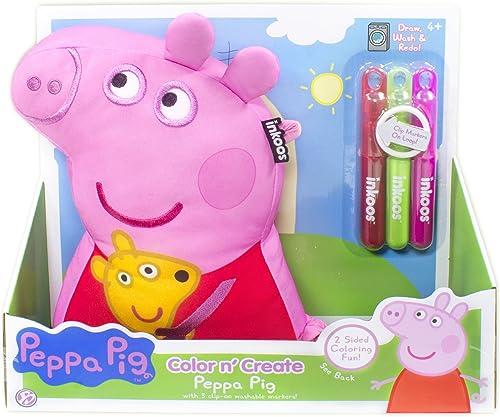 The Bridge Direct INKOOS Couleur n' Create Peppa Pig Plush