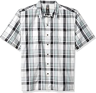 Men's Yarn Dyed Short Sleeve Camp Shirt