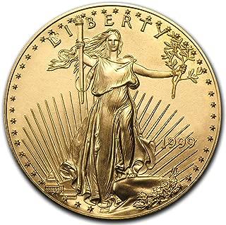 1999 1 oz gold american eagle