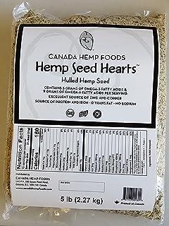 Sponsored Ad - Canada Hemp Foods - Hulled Hemp Seed Hearts - Omegas 3,6 - Non GMO, Gluten Free - 5lb Bag, Nutty