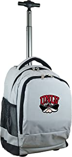 NCAA Expedition Wheeled Backpack, 19-inches, Grey