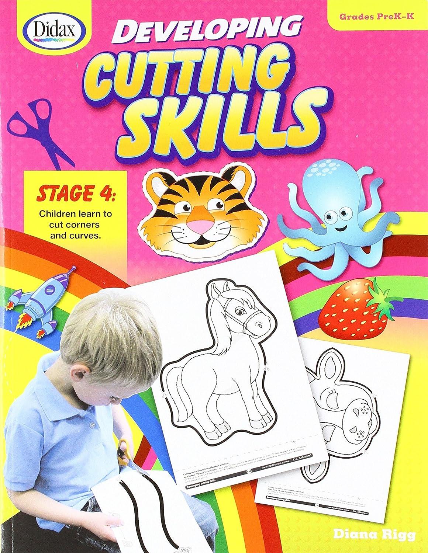 Didax Educational Resources Developing Cutting Skills PrekK Book