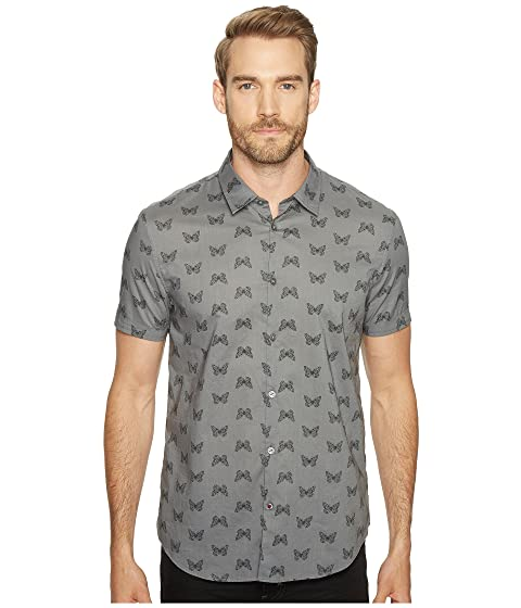 Fit Mayfiled Varvatos A John Shirt Sleeves S Sport U Short Cuffed with W443T1B Star Slim CcT40