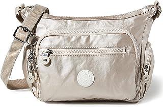Kipling Damen Gabbie S Crossbody, Silber (Silber (Metallic Glow), Einheitsgröße