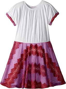 Missoni Kids Lace Lame Rigato Dress (Big Kids)