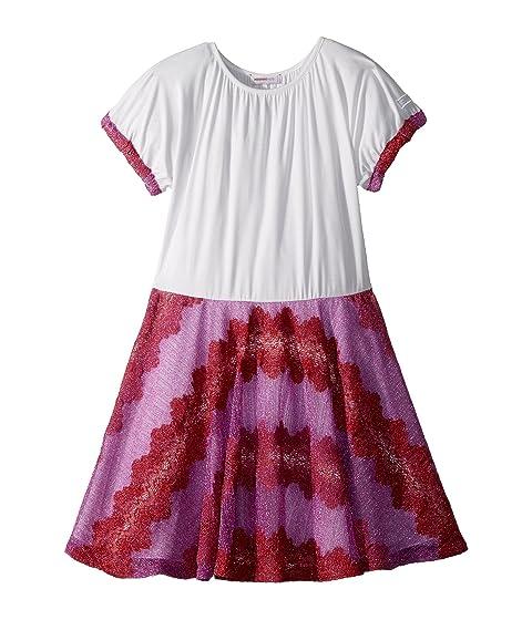 Missoni Kids Lace Lame Rigato Dress (Big Kids)