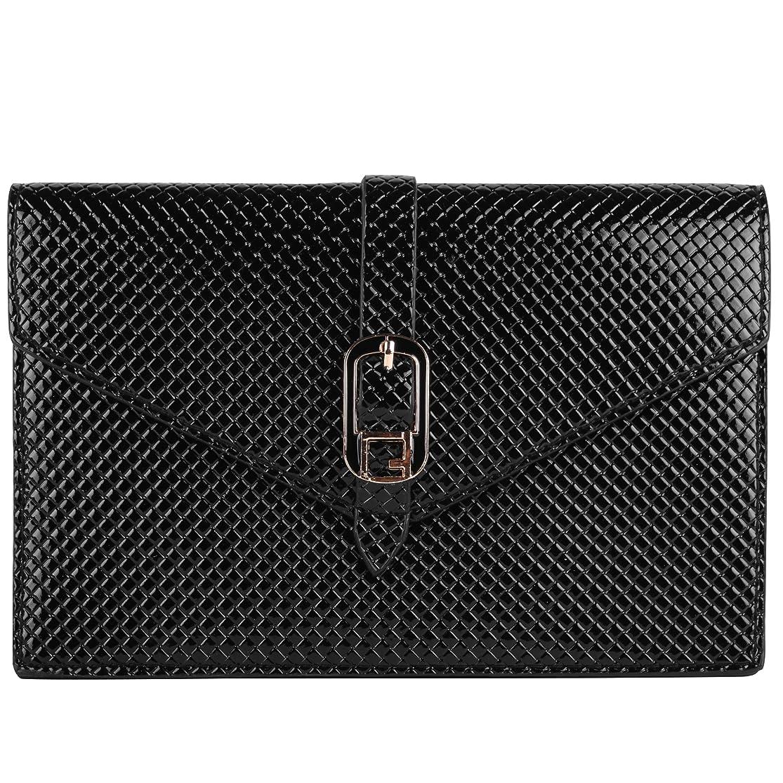VanGoddy Diamond Clutch Wallet Case for BLU Neo 4.5 / Neo 3.5 / Vivo 4.8 HD Unlocked Phones (Black) dxqmoxnt2