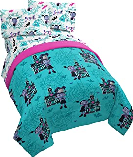 Jay Franco Disney Vampirina Twin Comforter - Super Soft Kids Reversible Bedding - Fade Resistant Polyester Microfiber Fill (Official Disney Product)