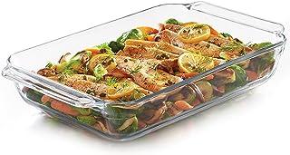Libbey Baker's Premium Glass Casserole Baking Dish, 9-inch by 13-inch