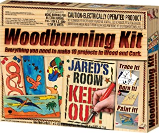 NSI Wood Burning Kit, Multi, Model:7733