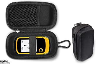 Handheld GPS Case Compatible with Garmin eTrex 10, 20, 20x, 30, 30x, 35t and Touch 35, 25 with mesh Accessory Pocket, Compact and Light Weight Strong case for Excellent Protection and Easy Carrying