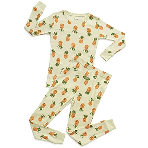 Leveret Kids   Toddler Pajamas Boys Girls 2 Piece Pjs Set 100% Organic  Cotton Sleepwear e17bf4de5