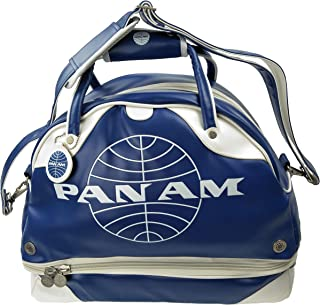 Pan Am Original Men's Retro Gym Duffle Travel Bag (Pan Am Blue)