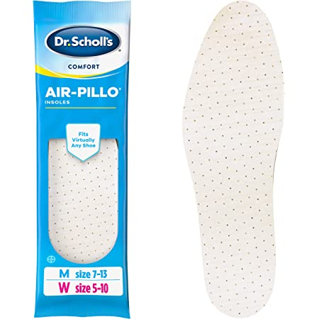 Dr. Scholl's AIR-PILLO Insoles // Ultra-Soft Cushioning and Lasting Comfort with Two Layers of Foam that Fit in Any Shoe - One pair