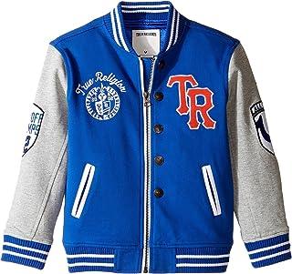 [トゥルーレリジョン] True Religion Kids ボーイズ Letterman Jacket (Toddler/Little Kids) スーツ [並行輸入品]