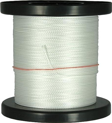 100m - 500m Dyneema Drachenschnur 30daN-500daN Weiß0,3mm-1,8mm sehr dehnungsarm geflochten Einleiner Lenkdrachen, L e 200m, Durchmesser   Bruchlast 1.4mm 230daN