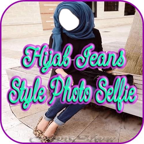 Hijab Jeans Style Photo Selfie