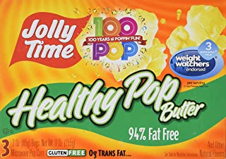 Jolly Time Healthy Pop Butter Microwave Popcorn - 255 gm