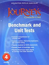 Journeys: Benchmark Tests and Unit Tests Consumable Grade 4