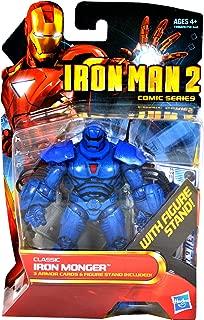Hasbro Iron Man 2 Comic 4 Inch Action Figure #35 Classic Iron Monger