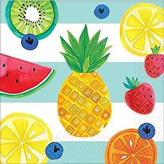 مناديل غداء 511954 لمستلزمات الحفلات من أمسكان، مقاس واحد، متعددة الألوان
