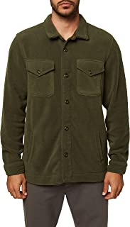 Men's Fleece Shirt Jacket