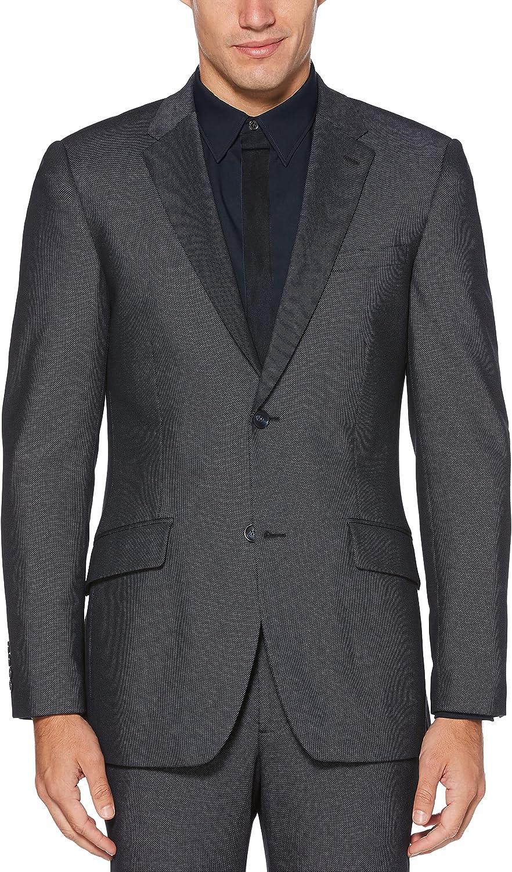 Perry Ellis Men's Very Slim Fit Stretch Solid Dot Print Suit Jacket