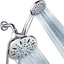 AquaDance O combo de chuva premium de alta pressão de 17,78 cm combina o melhor dos dois mundos: aproveite a luxuosa ducha...