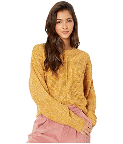 Sanctuary Sorry Not Sorry Sweater (Marled Fools Gold) Women